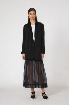 moochi spell blazer - spring 2016 COLLECTION Through The Looking Glass, Black Blazers, Spring 2016, Normcore, Product Description, Collection, Style, Fashion, Swag
