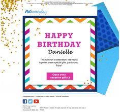 P&G birthday email 2015
