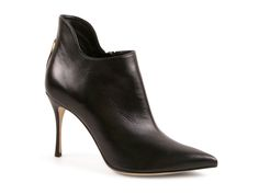 Sergio Rossi ankle heels booties in black Soft leather - Italian Boutique €593