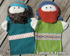 Living in Lilliput: Scripture Puppets (with pattern!