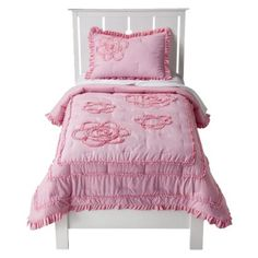 Circo Ruffle Quilt Set - pink    $64.99 (not sold in stores)