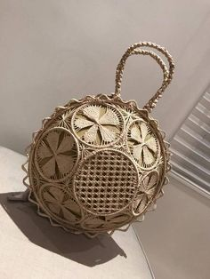 Best 12 Beautiful Boho Grey Crochet Bag With Nylon Lining , Top zipper, Inside Pocket And Rattan Loop Handles by BenThaiProducts on Etsy – SkillOfKing.Com It Bag, Tenerife, Cute Purses, Purses And Bags, Wooden Purse, Sacs Design, Unique Handbags, Latest Bags, Macrame Art