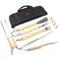 Personalized 11pc. BBQ Grill Tool Set