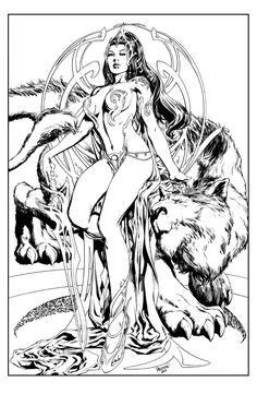Dejah Thoris by Carlo Pagulayan , in Kirk  Dilbeck's 3-Wishes Presents: Carlo Pagulayan Comic Art Gallery Room - 1046672