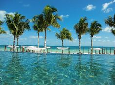 Loved this infinity pool at Villa del Palmar, Cancun, Mexico - (2013) 10th Anniversary Trip