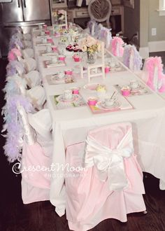 What A Gorgeous Table At Tea Party Birthday See More Ideas Catchmyparty