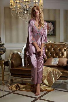 Satin Nightie, Satin Sleepwear, Satin Pajamas, Satin Gown, Satin Dresses, Silk Satin, Nighties, Nightgowns, Satin Blouses