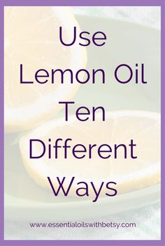 Use Lemon Oil Ten Different Ways One bottle of essential oil comes with a wide variety of uses. Let's explore ten different ways to use lemon oil. Which will be your new favorite way to use Lemon? Use Lemon Oil For Cleaning Many household cleaners are filled with toxins and harmful chemicals. I've fallen in love with lemon oil for cleaning! From removing sticky residue to wiping my kitchen counters, I adore this pure essential oil. It has the amazing lemon aroma, without any harmful…