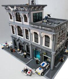 lego police station moc | Moc] Police Headquarters