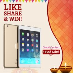 Festival Feast on This #Diwali2016 With #ShopINdeal !!  Chance To Win an #iPad, #Like & #share Our Page ShopIN deal !!