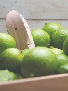You might be fooled by Bruce's good looks, but he is not just eye candy! There is nothing that Bruce enjoys more than juicing citrus fruits. So if you love wood craft, this gorgeous lemon squeezer is for you.