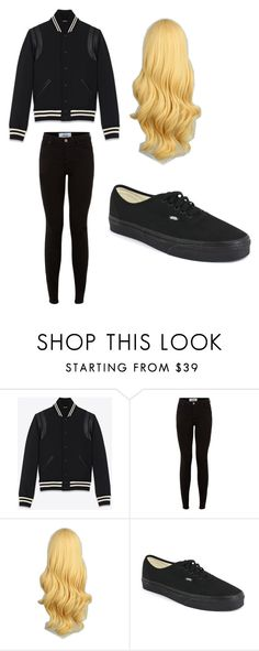 """Untitled #310"" by hopecobb ❤ liked on Polyvore featuring Yves Saint Laurent and Vans"