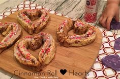 My girl and I made cinnamon rolls this morning but not just any cinnamon rolls.  We made heart shaped rolls in preparation for Valentine's Day.  We really took the simple road with these cinnamon rolls because we used a can of pre-made dough (that is on …