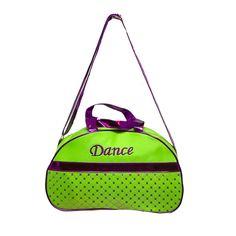 Girls Dance Duffle Bag Moon Sequin Metallic Choose Color -- For more information, visit image link.