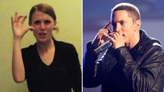 This sign language version of Eminem's 'Lose Yourself' is amazing