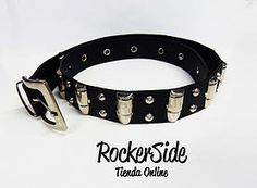 Correa de balas y taches. $13.000 Adquierela en www.rockerside.com Envíos a todo Colombia, aceptamos todos los medios de pago