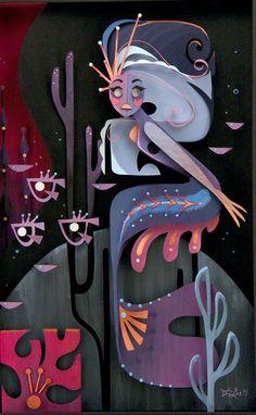 Brittney Lee, Sirena - Splish Splash, Nucleus Gallery 3d Paper Art, Paper Artwork, Paper Crafts, Cut Paper, Paper Illustration, Portrait Illustration, Graphic Illustration, Brittney Lee, Tarjetas Pop Up