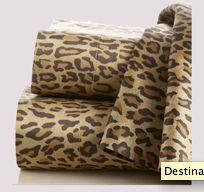 Ralph Lauren Leopard-Print Sheets