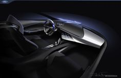 Ford 2025 Dual Premium Interior Concept on Behance