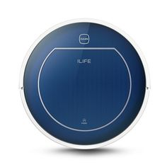 CHUWI ILIFE V7 Super Mute Sweeping Robot Home Vacuum Cleaner Dust Cleaning with 2600mAh Li - battery-SAPPHIRE BLUE