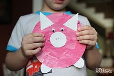 """Right now, both of my kids are obsessed with Peppa Pig. It started with Paityn constantly asking me for """"Pig! Pig!"""" and soon after Brady followed suit. As much as I could complain about how silly the show is and that I have no idea why they are sucked into it like they are, it …"""