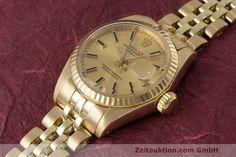 Rolex Lady Datejust 18k Gold Automatik Kal. 2030 Ref. 6917