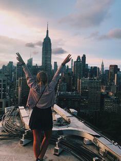 New York Skyline, Louvre, Building, Travel, Viajes, Buildings, Destinations, Traveling, Trips
