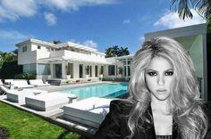 Latin Pop Megastar Shakira Lists Miami Mansion For $15M