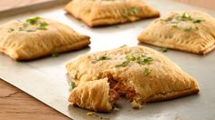 These barbecue chicken stuffed pockets are a quick and easy dinner solution for your family.