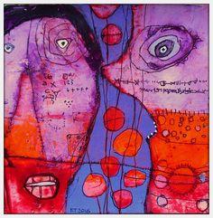 The Art of Fibrite, Elketrittel, mixed media artist.  IMG_5096j