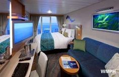 Royal Caribbean - Oasis of the Seas - Superior Ocean View Stateroom with Balcony this is what our room will look like. looking out over the caribbean yes!!!!