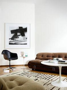 Soriano Sofa by Tobia Scarpa for Cassina, Atelier International circa 1976 Italy
