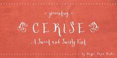 Cerise™ font download