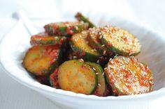 Korean cucumber Salad - South Beach Diet