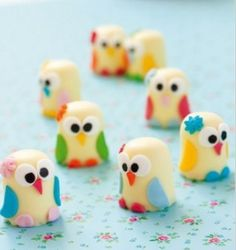 Sweet Owls, uiltjes #treat #traktatie