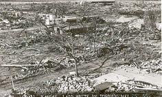 Tornado damage in Udall, Kansas - Kansas Memory Tornado Damage, Arkansas City, City Photo