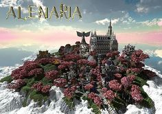 City of Alenaria Minecraft World Save