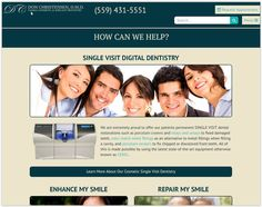 Fresno dentist office of Dr. Don Christensen DMD. Dr. Christensen offers single visit dental restorations: porcelain crowns, veneers and more at his dental office in Fresno CA