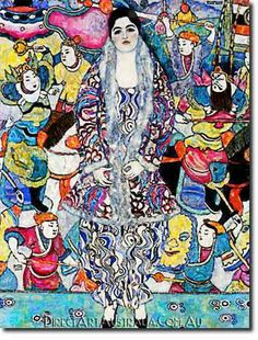 Klimt | Fredericke Maria Beer, 1916 - Direct Art Australia,  Price: $199.00,  Availability: Delivery 10 - 14 days,  Shipping: Free Shipping,  Minimum Size: 50 x 60 cm,  Maximum Size : 100 x 150 cm,  View the artwork before it is sent!  www.directartaustralia.com.au/