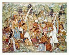 Indonesian Visual Art Archive | Karya-Karya Ida Bagus Made Poleng