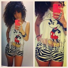 love mickey mouse