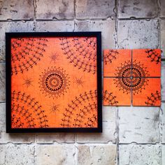 Warli tray that you can hang in style on your kitchen wall as a painting when not in use. Luster lamination with black frame... Plus 4 coasters. Use it as you please... www.facebook.com/maddiesfingerstheartyones