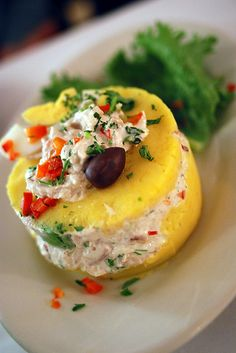 Causa Rellena, another Peruvian favorite #CupcakeDreamWedding