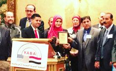 @theeblaze Hanan Yahya receives an award from the #YemeniAmerican Benevolent Association tonight in their 47th dinner. And standing next to her is Mrs Nawal Hamadeh founder President and Superintendent of #hamadeheducationalservices #hesacademies