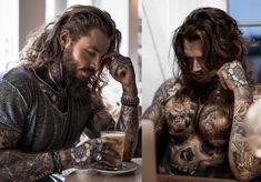 Sexy Tattooed Men, Beard Haircut, Cool Tattoos For Guys, Hot Hunks, Fine Men, Beautiful Tattoos, Beards, Girl Power, Destiny