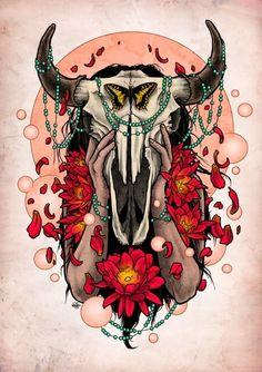 """""""Buffalo Girl"""" by Matt Verges"""