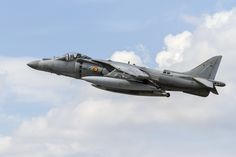 https://flic.kr/p/otf7Di | McDonnell Douglas AV-1B Harrier II | The McDonnell Douglas (now Boeing) AV-8B Harrier II is a single-engine ground-attack aircraft that constitutes the second generation of the Harrier Jump Jet family. Capable of vertical or short takeoff and landing (V/STOL), the aircraft was designed in the late 1970s as an Anglo-American development of the British Hawker Siddeley Harrier, the first operational V/STOL aircraft. Named after a bird of prey,[8] it is primarily…