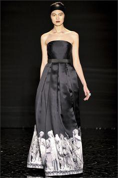 Sfilata Pamella Roland New York - Collezioni Autunno Inverno 2013-14 - Vogue