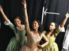 Lexi Lawson, Renee Elise Goldsberry and Jasmine Cephas Jones