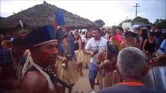 Festa realizada em comemoração do 12º aniversário da Aldeia Três Rios.